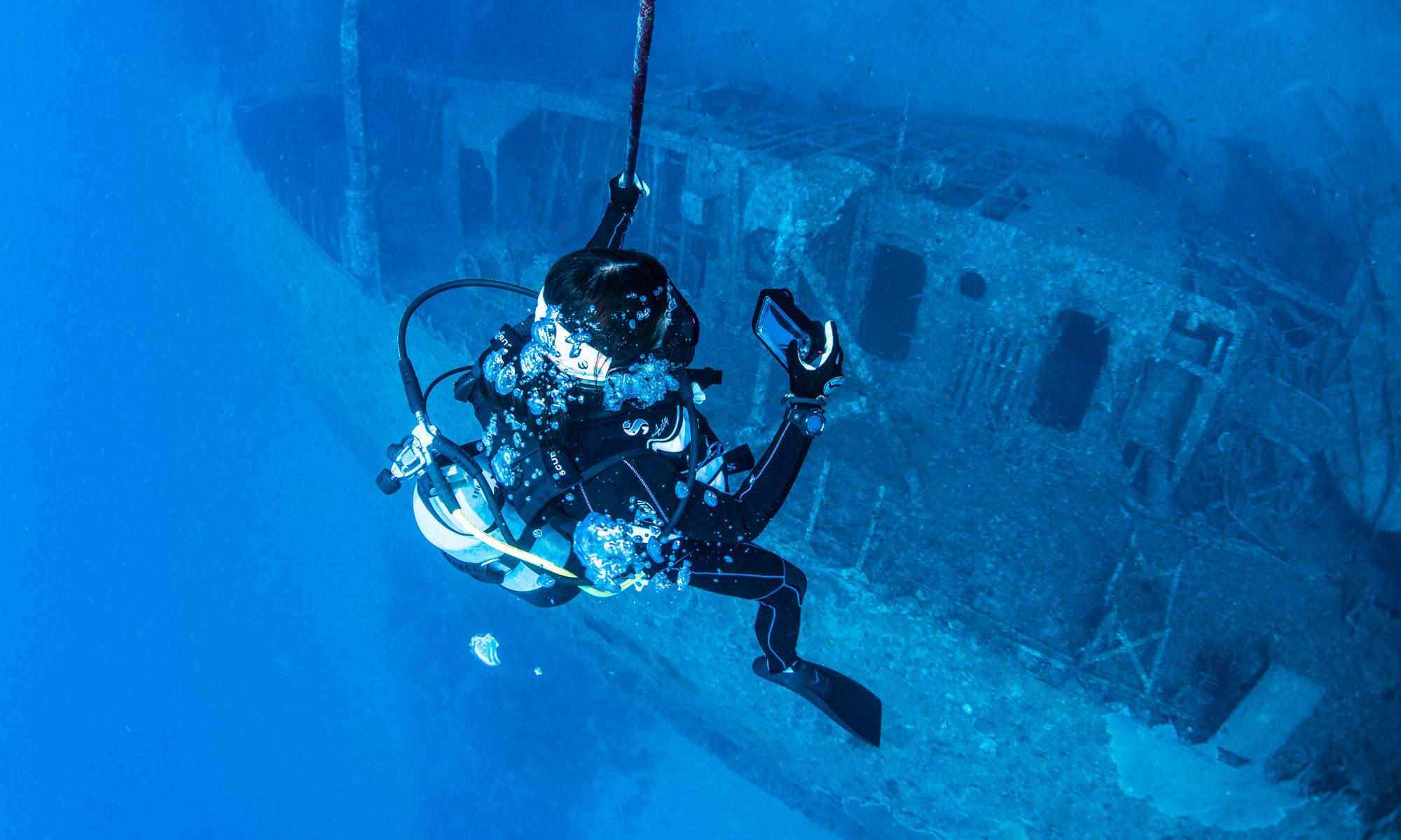 エモンズの沈没船って何?沖縄のレックダイビング